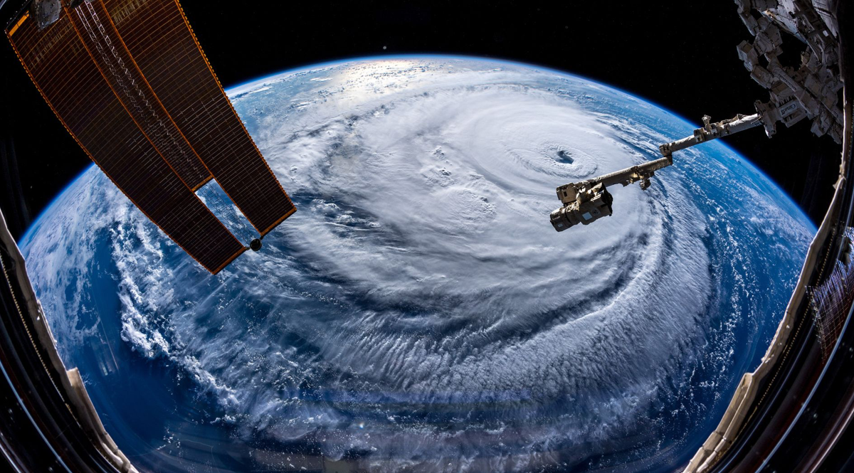 THE THREE BEST VISUALS OF HURRICANE FLORENCE